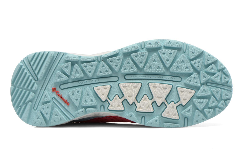Chaussures de sport Columbia Youth Drainmaker III Rose vue haut