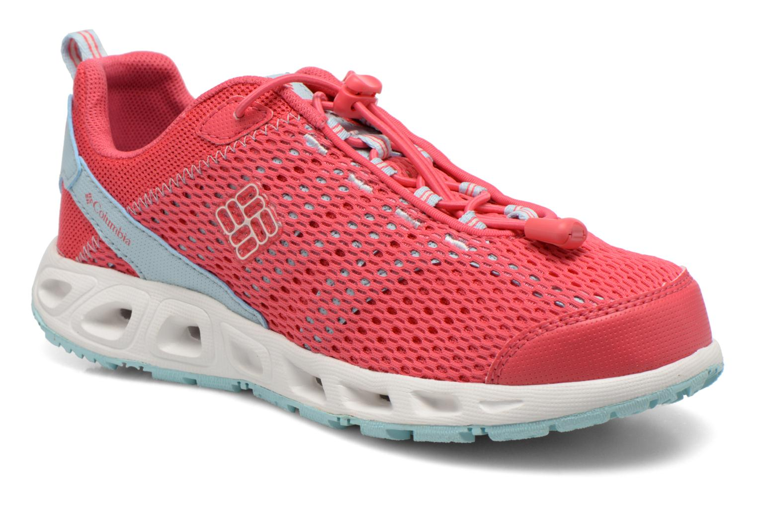 Chaussures de sport Columbia Youth Drainmaker III Rose vue détail/paire