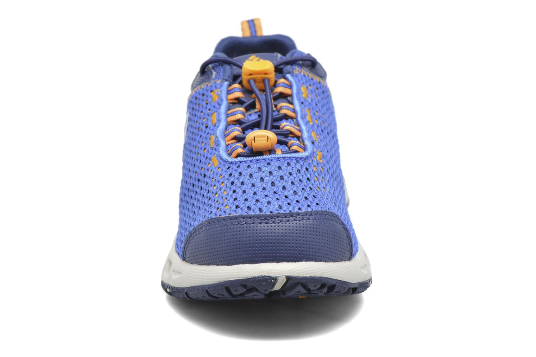 Chaussures de sport Columbia Youth Drainmaker III Bleu vue portées chaussures