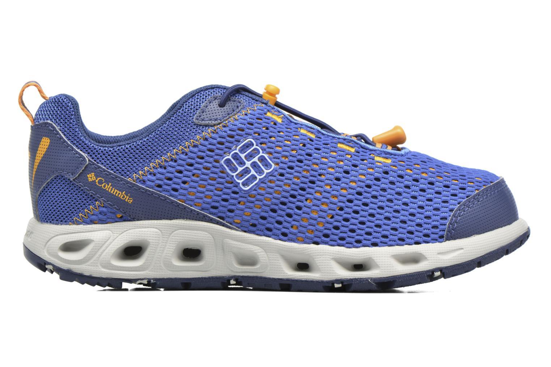 Chaussures de sport Columbia Youth Drainmaker III Bleu vue derrière