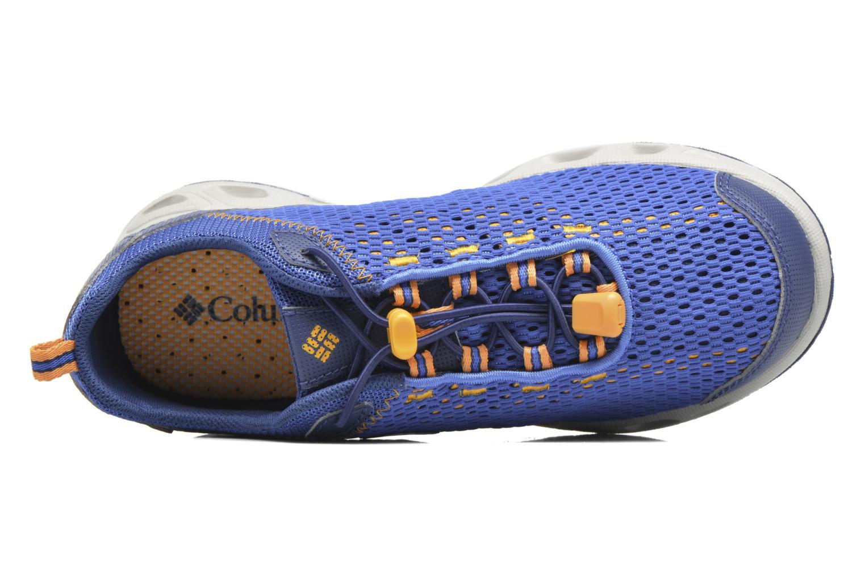 Chaussures de sport Columbia Youth Drainmaker III Bleu vue gauche