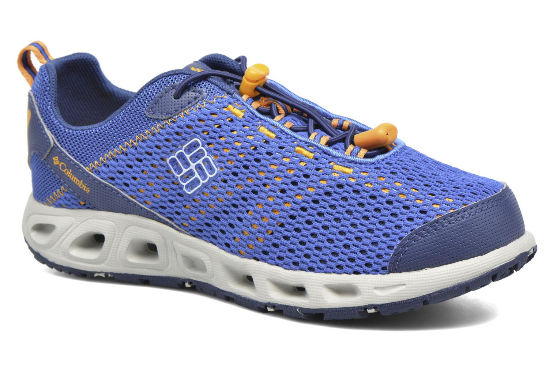 Sportssko Columbia Youth Drainmaker III Blå detaljeret billede af skoene