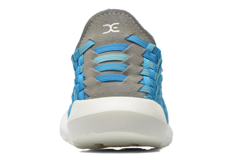 Sneakers DUDE E-last Tessa Blauw rechts