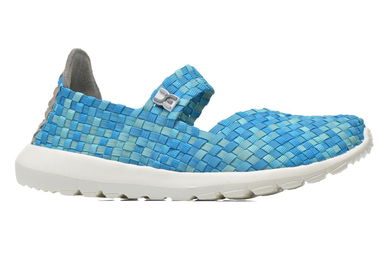Sneakers DUDE E-last Tessa Blå se bagfra