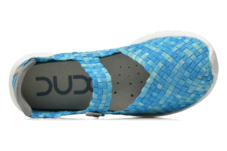 Sneaker DUDE E-last Tessa blau ansicht von links