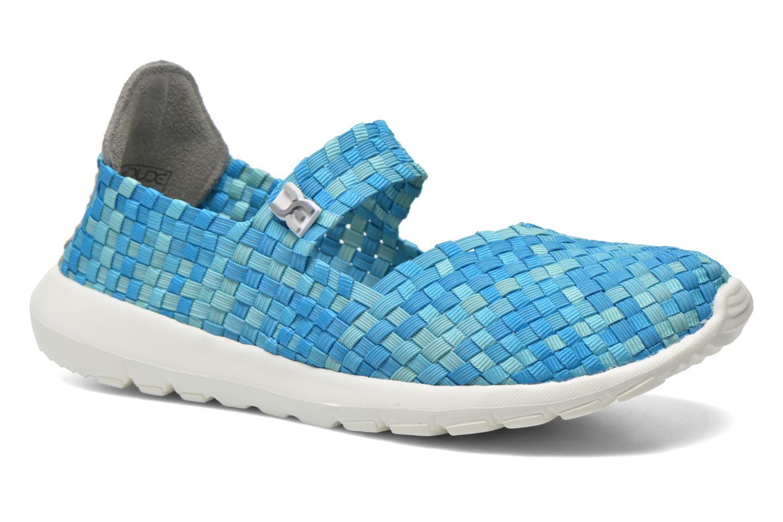 Sneakers DUDE E-last Tessa Blauw detail