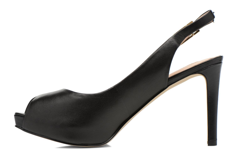 Sandales et nu-pieds Guess Kayna Noir vue face