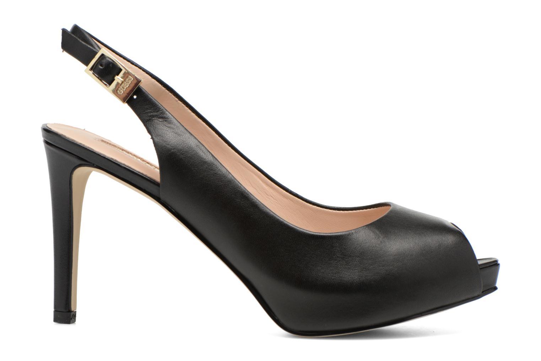 Sandales et nu-pieds Guess Kayna Noir vue derrière