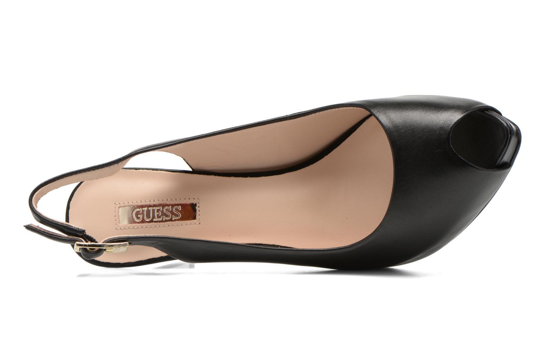 Sandales et nu-pieds Guess Kayna Noir vue gauche