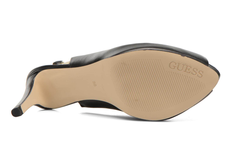 Sandales et nu-pieds Guess Kayna Noir vue haut
