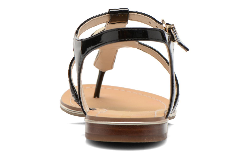 Sandales et nu-pieds Guess Roxxie Noir vue droite