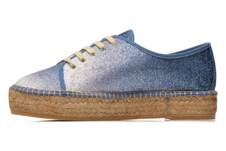 Sneakers Guess Renan Azzurro immagine frontale