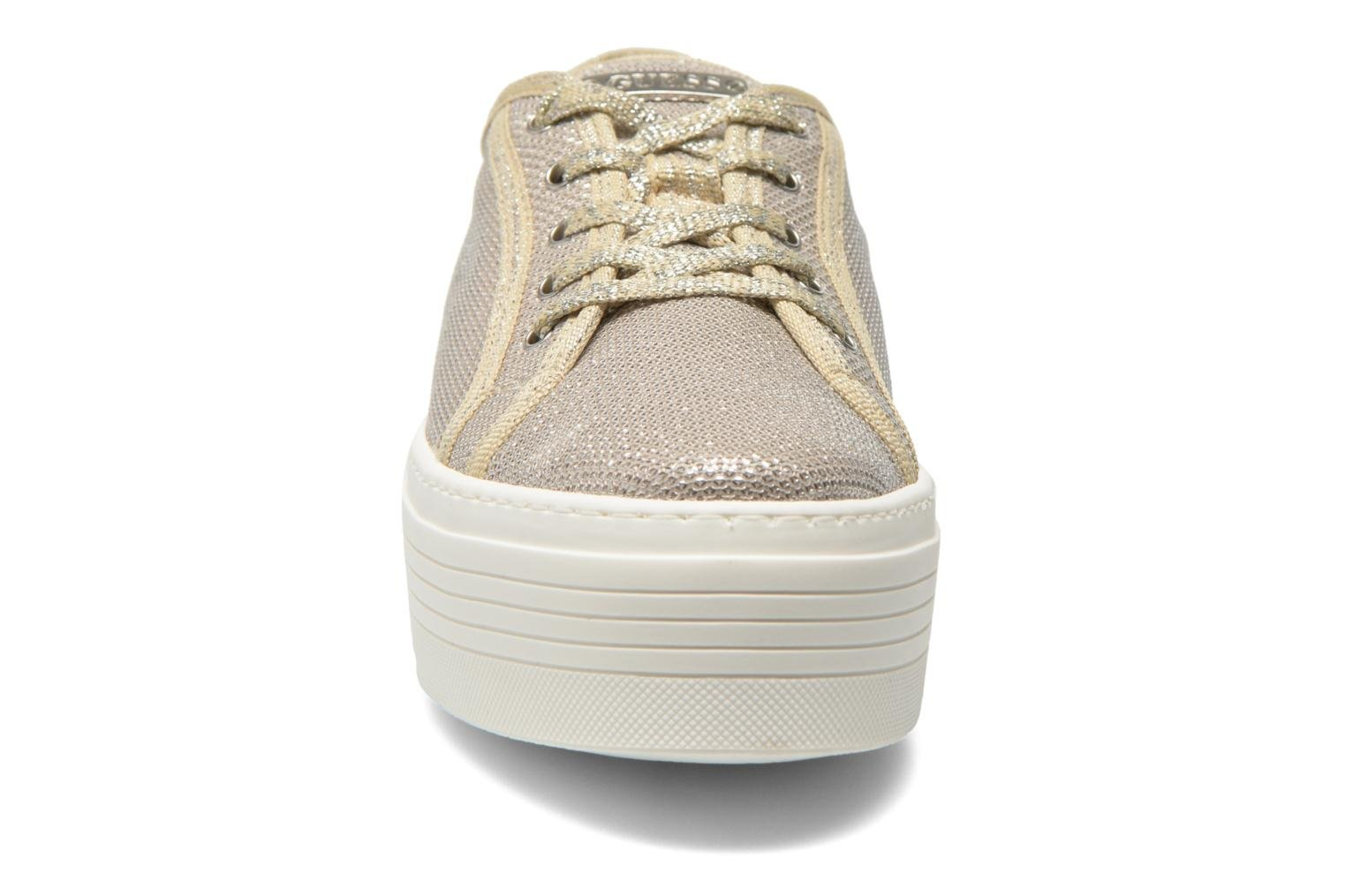Trainers Guess Branka Bronze and Gold model view