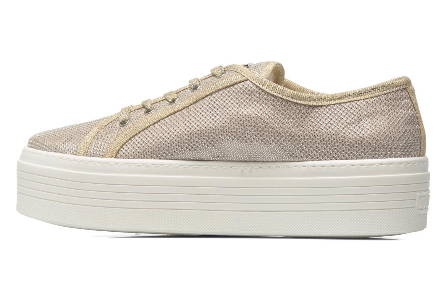 Trainers Guess Branka Bronze and Gold front view
