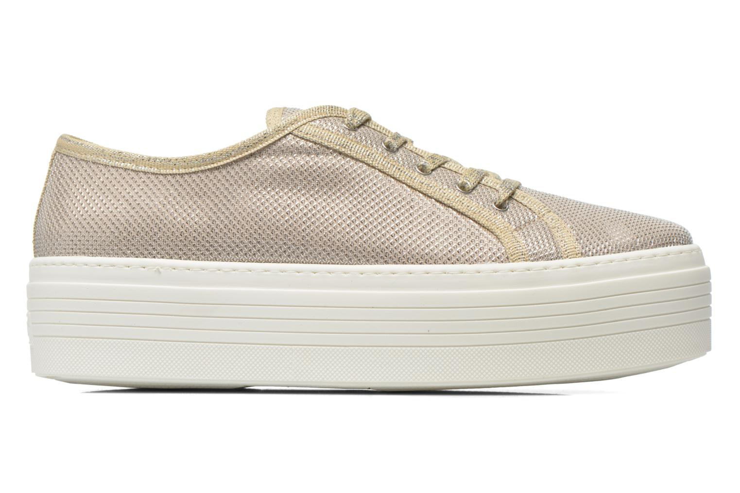Trainers Guess Branka Bronze and Gold back view
