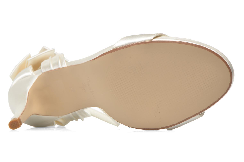 Sandales et nu-pieds Menbur Ana Maria Blanc vue haut