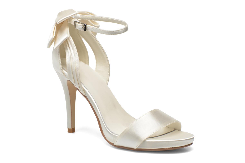 Sandales et nu-pieds Menbur Ana Maria Blanc vue détail/paire