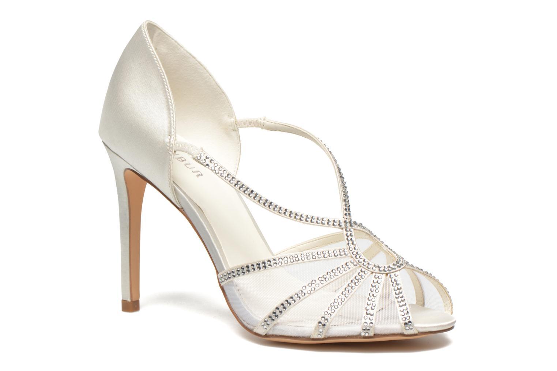 Sandaler Menbur Maribel Hvid detaljeret billede af skoene