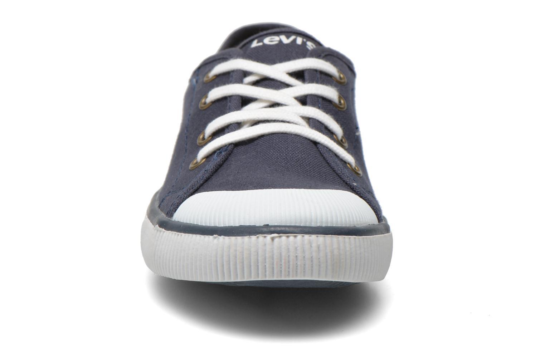 Baskets Levi's Gong Bleu vue portées chaussures