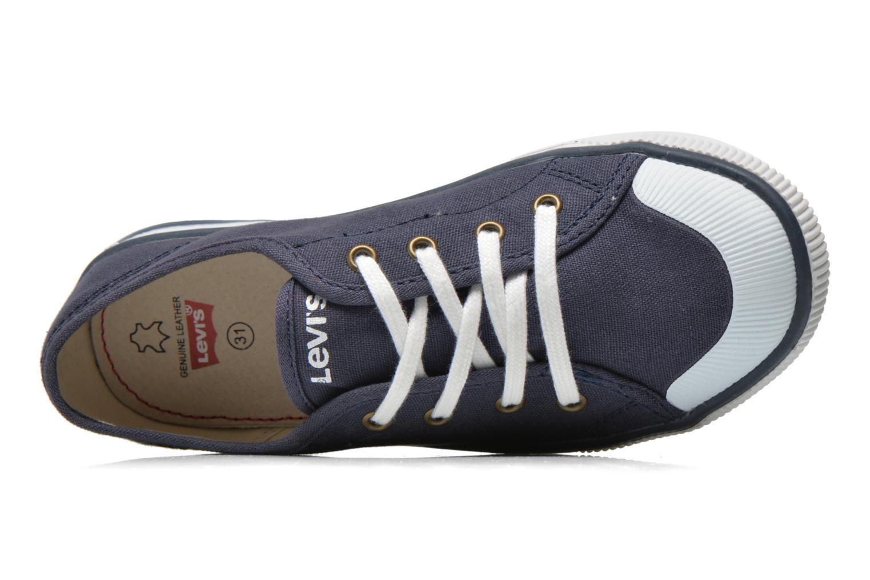 Sneaker Levi's Gong blau ansicht von links