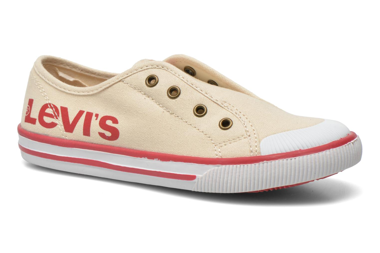 Trainers Levi's Gong Beige 3/4 view