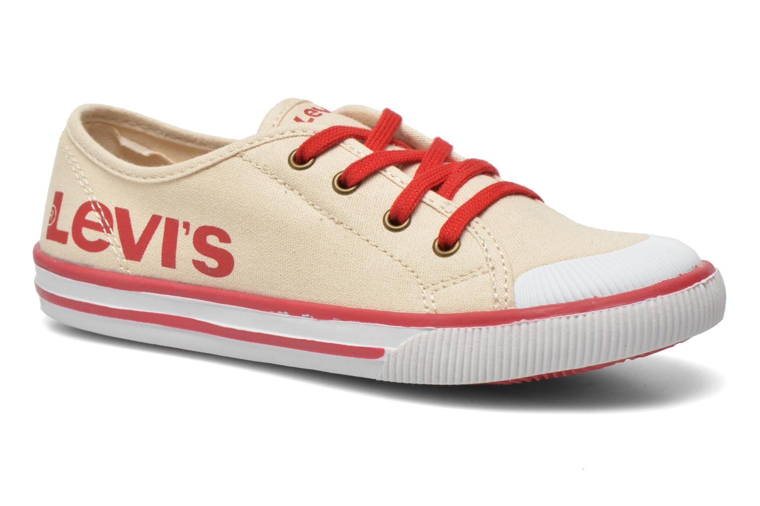 Trainers Levi's Gong Beige detailed view/ Pair view