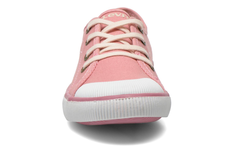 Sneaker Levi's Gong rosa schuhe getragen