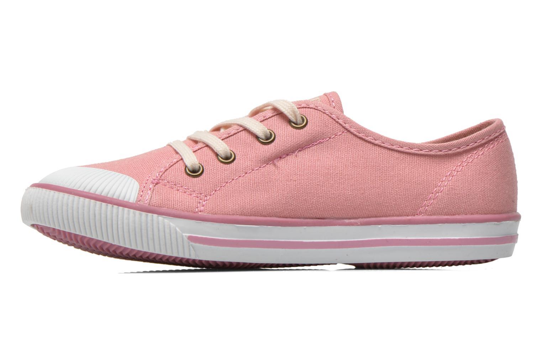 Sneaker Levi's Gong rosa ansicht von vorne