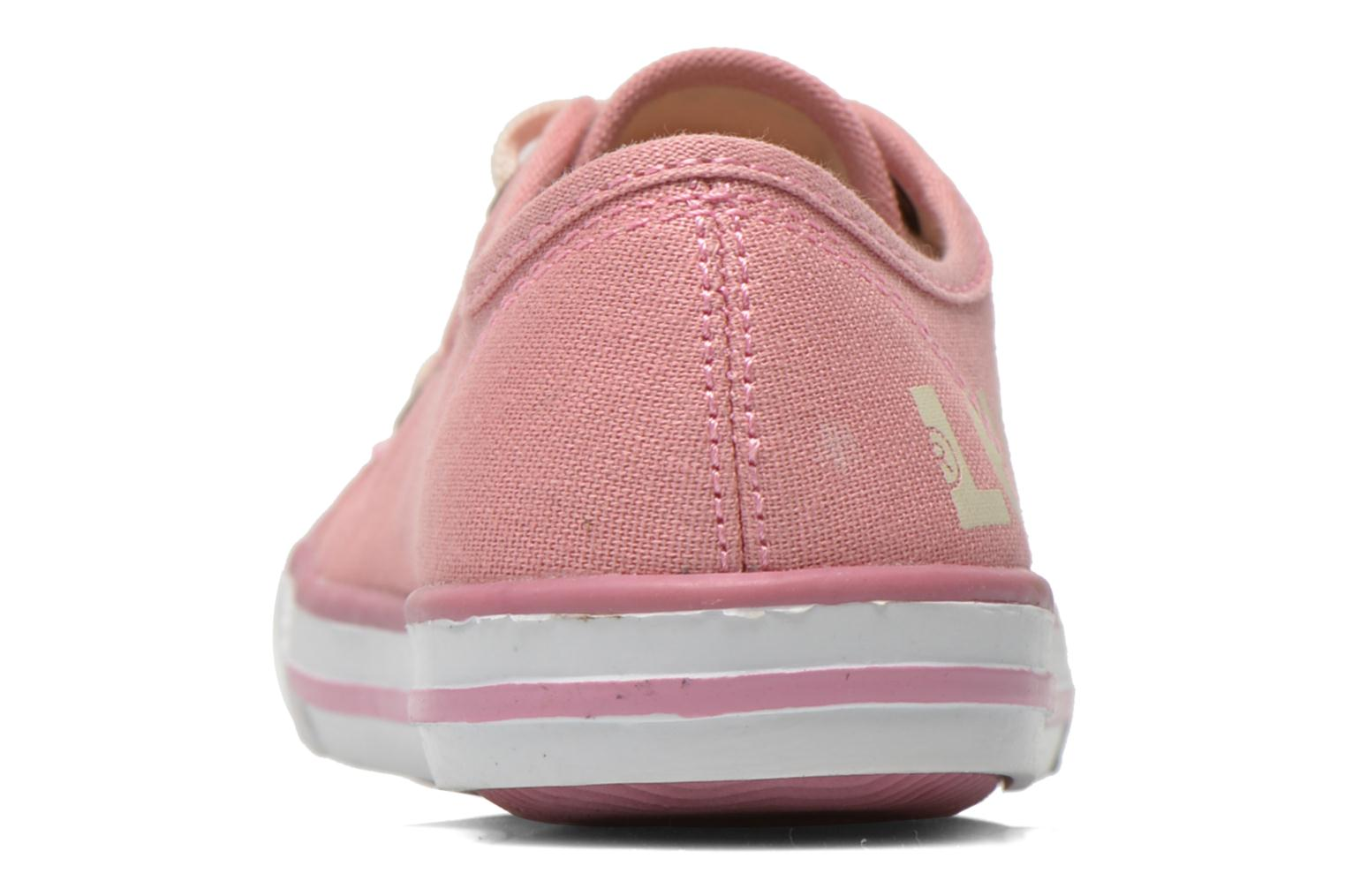 Trainers Levi's Gong Pink view from the right
