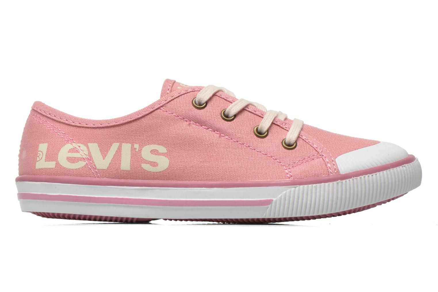 Sneakers Levi's Gong Roze achterkant