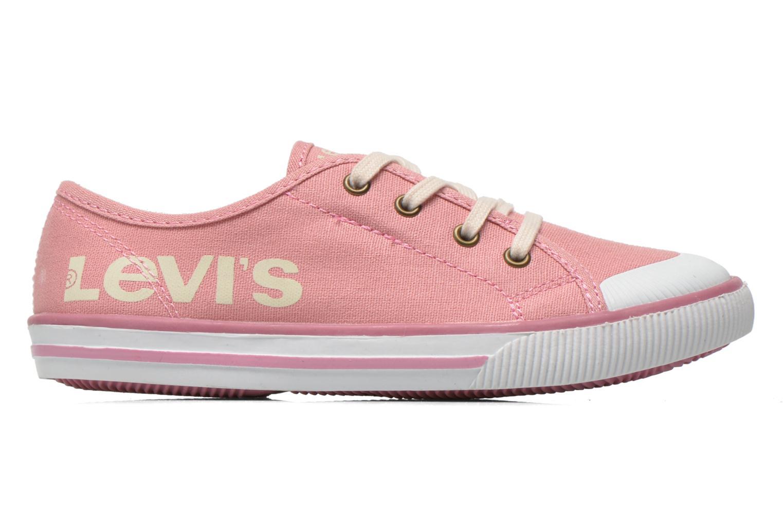 Sneaker Levi's Gong rosa ansicht von hinten