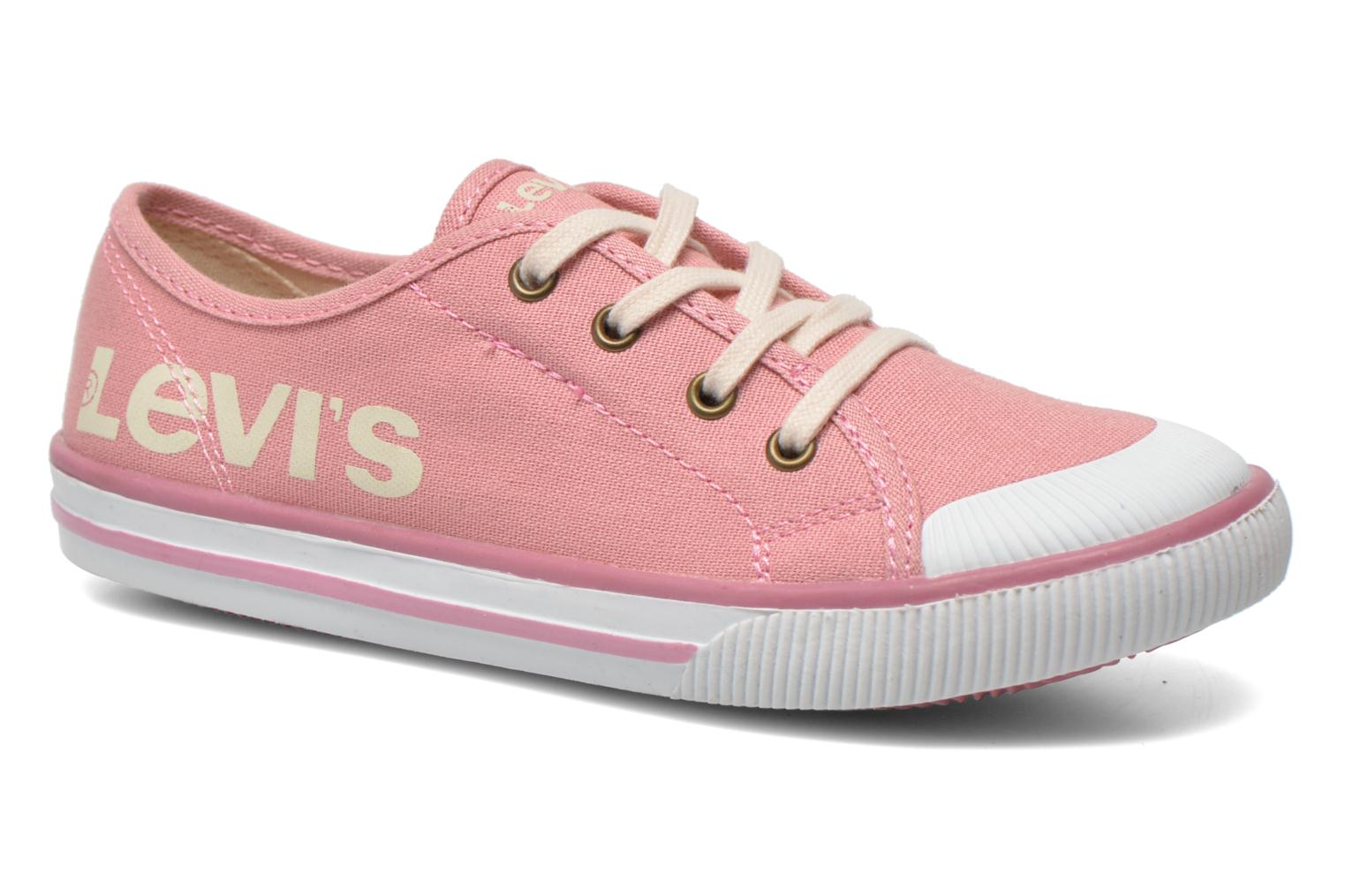 Trainers Levi's Gong Pink detailed view/ Pair view