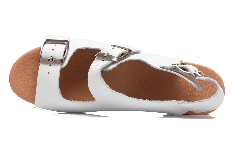 Sandales et nu-pieds Sixty Seven Linaci Blanc vue gauche