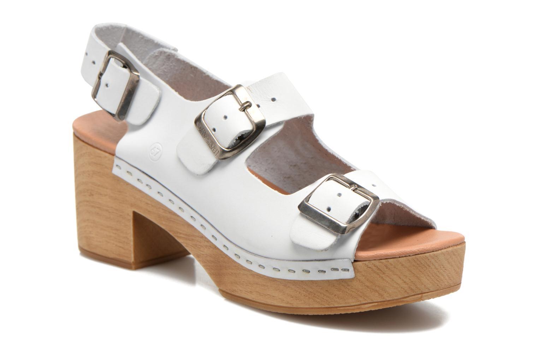 Sandales et nu-pieds Sixty Seven Linaci Blanc vue détail/paire