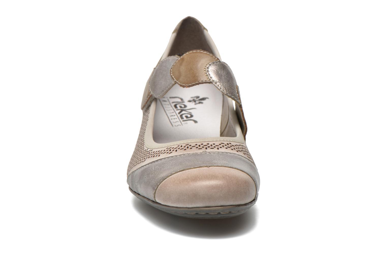 Escarpins Rieker Wed 41755 Gris vue portées chaussures