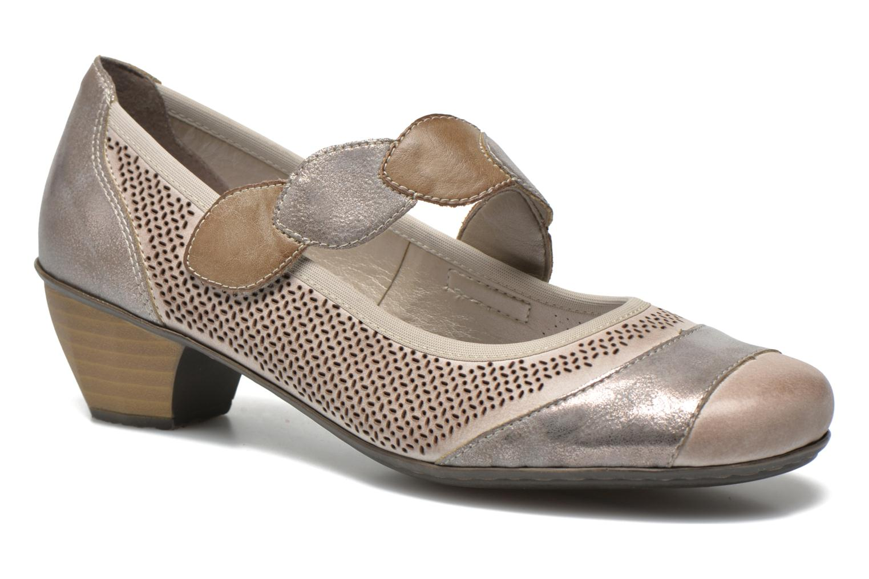High heels Rieker Wed 41755 Grey detailed view/ Pair view