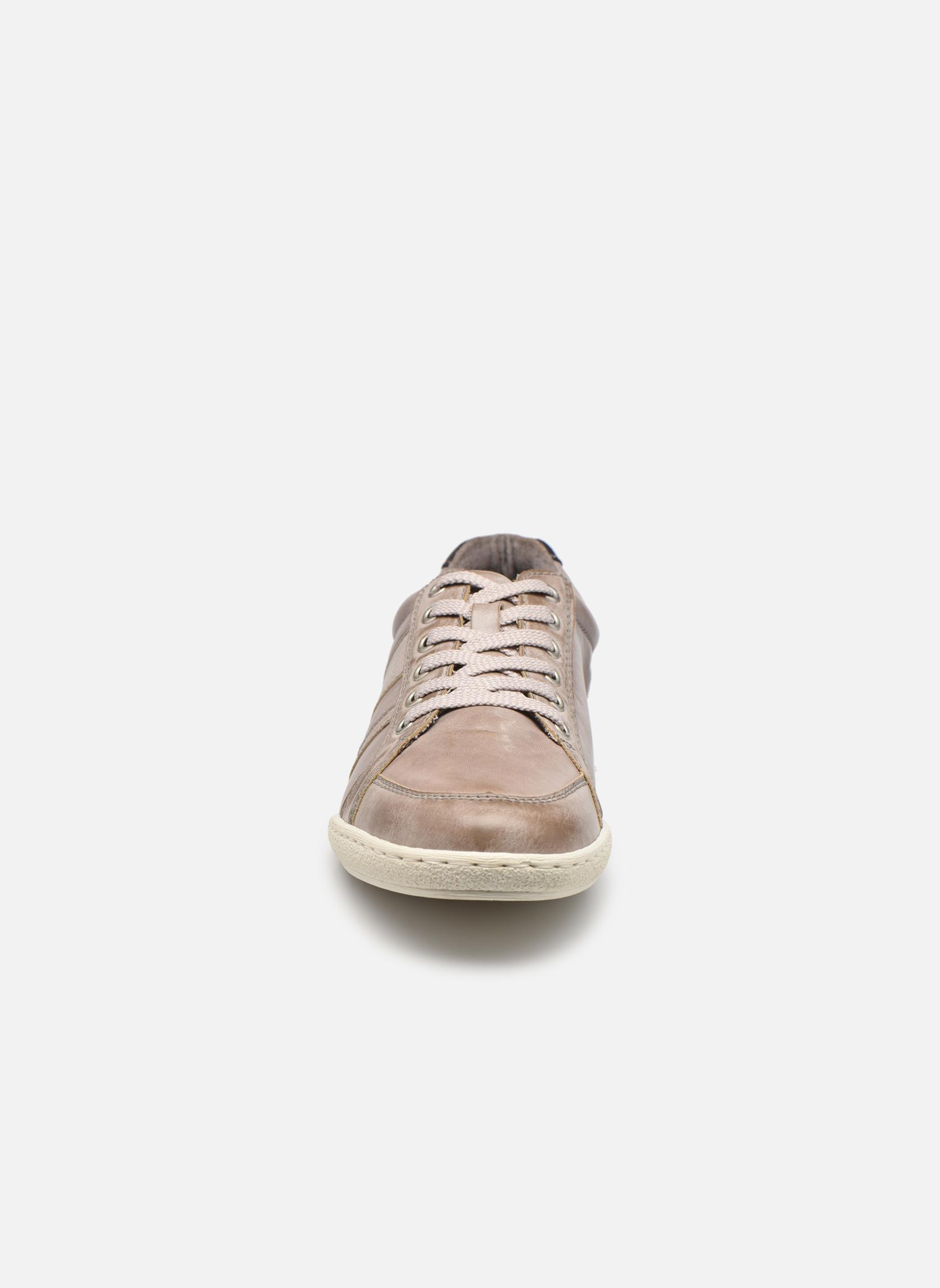 Baskets Rieker Anto 19117 Gris vue portées chaussures