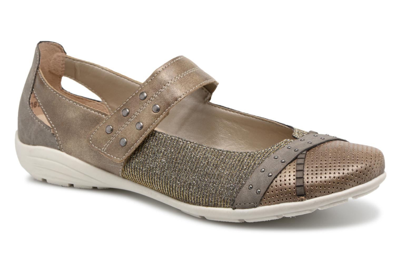 Zapatos promocionales Remonte Teen D4627 (Oro y bronce) - Bailarinas   Zapatos de mujer baratos zapatos de mujer