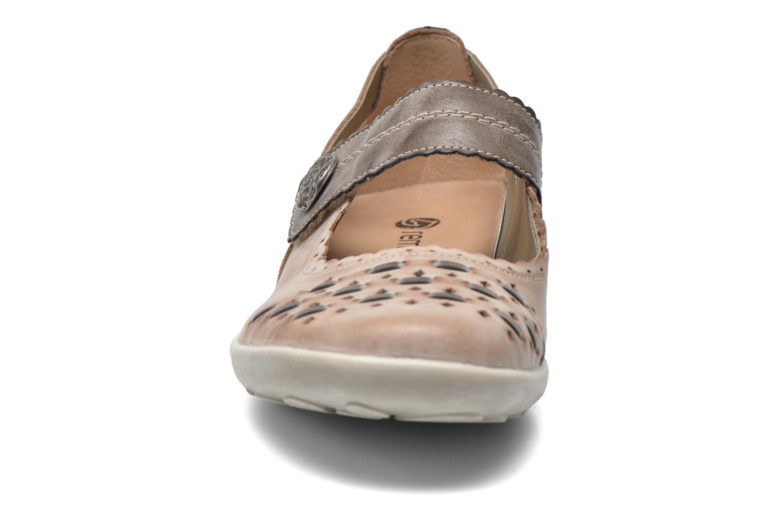 Ballerines Remonte Matou R1739 Beige vue portées chaussures