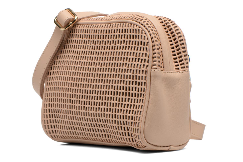 Handtassen Craie Micro Casier Beige model