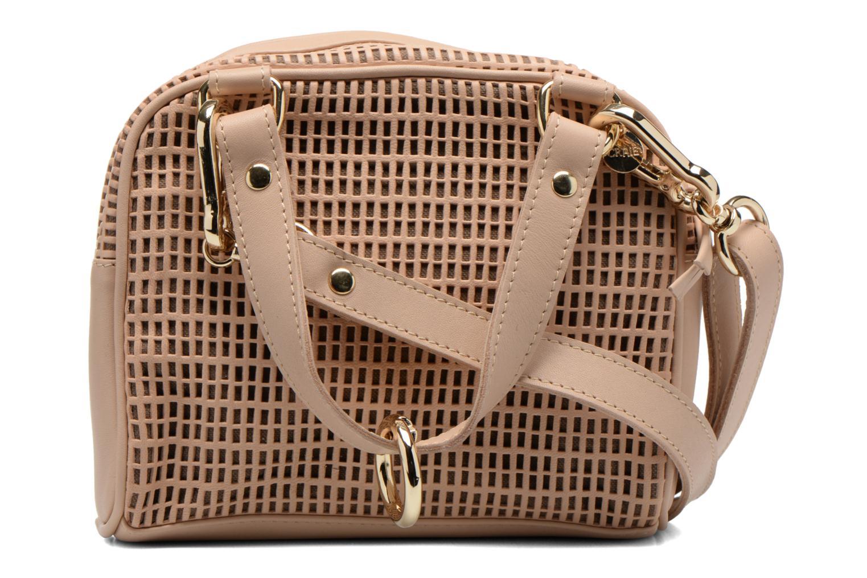 Handtaschen Craie Micro Casier beige ansicht von vorne