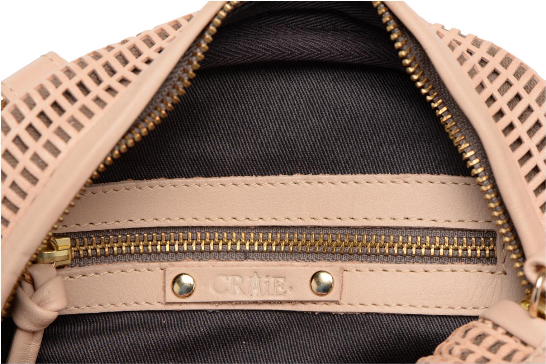 Håndtasker Craie Micro Casier Beige se bagfra