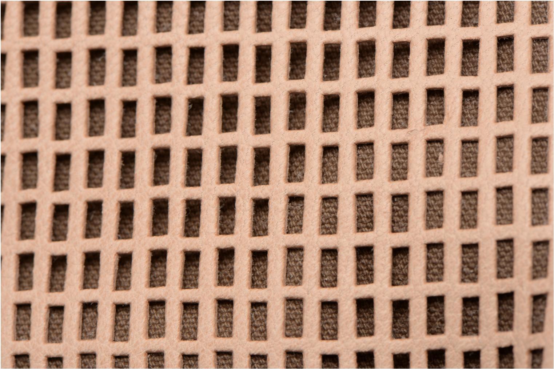 Handtaschen Craie Micro Casier beige ansicht von links