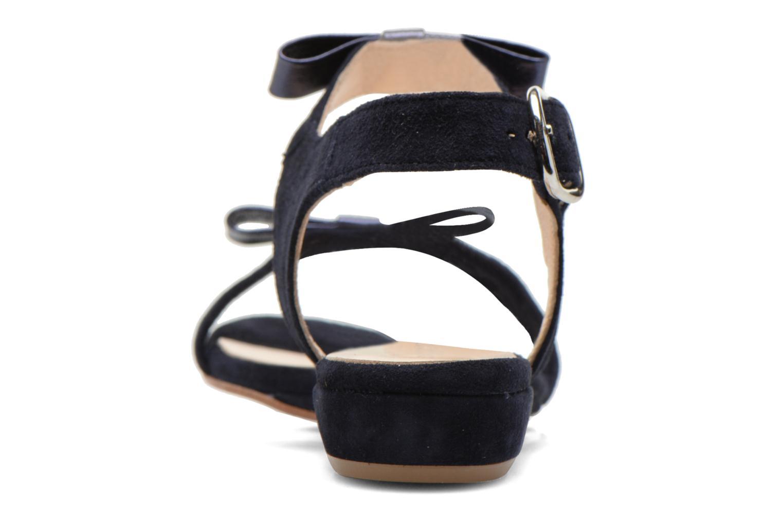 Sandales et nu-pieds Georgia Rose Anopa Bleu vue droite