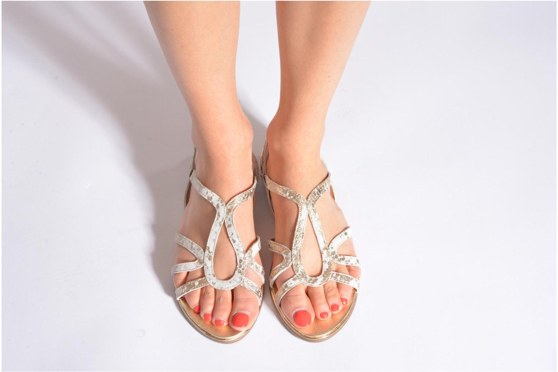 Sandales et nu-pieds Karston Sofor Noir vue bas / vue portée sac