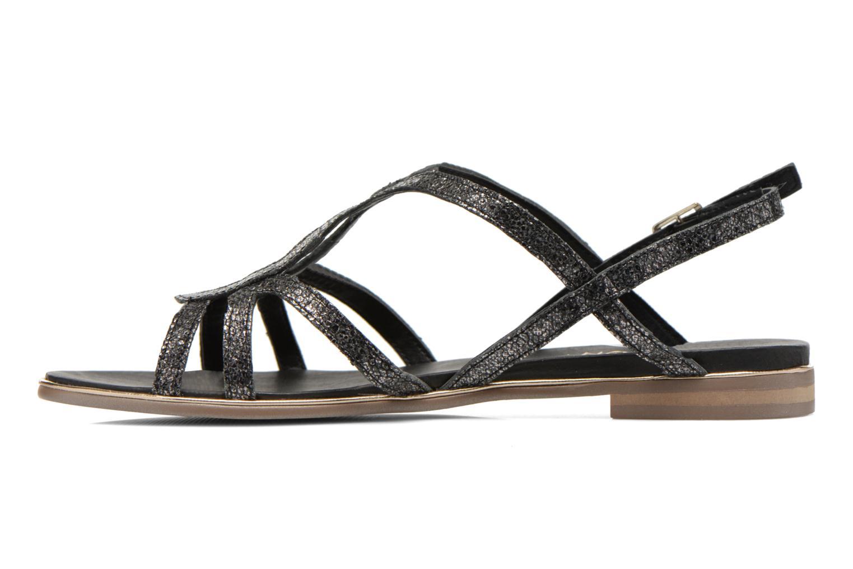Sandales et nu-pieds Karston Sofor Noir vue face