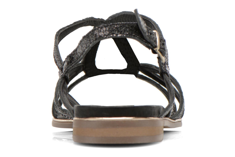 Sandales et nu-pieds Karston Sofor Noir vue droite