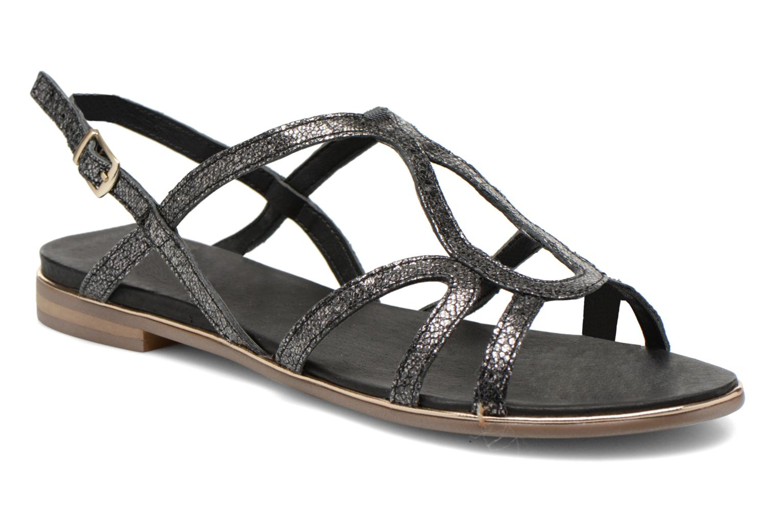 Sandals Karston Sofor Black detailed view/ Pair view