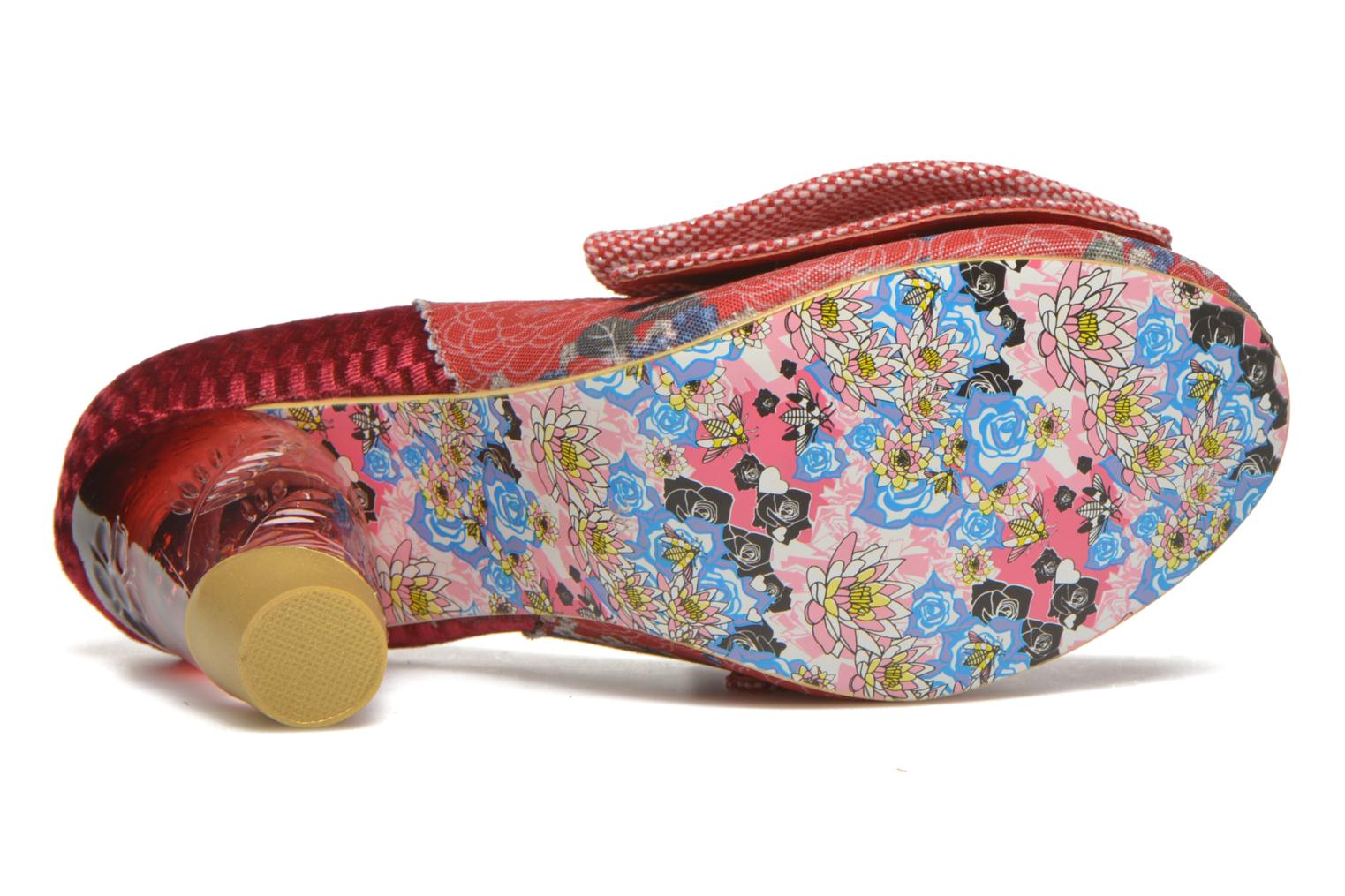 Bowtina Red floral