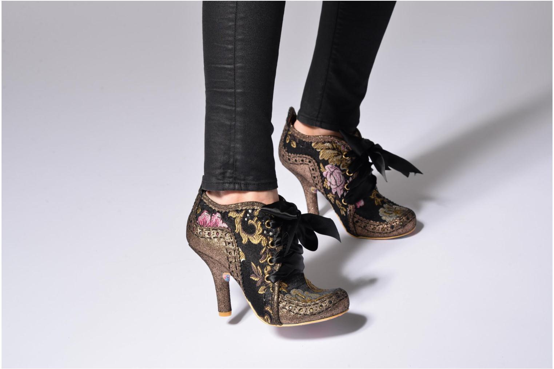 Chaussures à lacets Irregular Choice Abigail's Third Party Or et bronze vue bas / vue portée sac